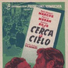 Cine: CERCA DEL CIELO .- PATRICIA MORAN. Lote 253952705