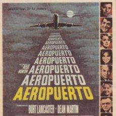 Cine: AEROPUERTO .- BURT LANCASTER. Lote 253955900