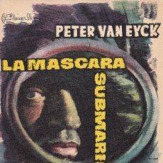 Cine: LA MASCARA SUBMARINA .- PTER VAN EYCK. Lote 253971335