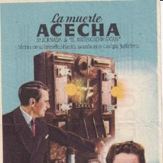 Cine: LA MUERTE ACECHA .- EDWARD CIANNELLI. Lote 253973420