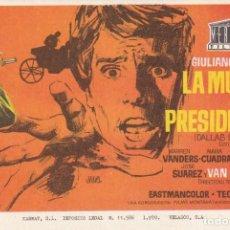Cine: LA MUERTE DE UN PRESIDENTE .- GIULIANO GEMMA. Lote 253973820