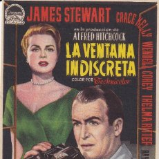 Cine: LA VENTANA INDISCRETA .- JAMES STEWART. Lote 253976270