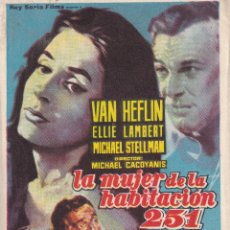 Cine: LA MUJER DE LA HABITACION 251 .- VAN HEFLIN. Lote 253976640