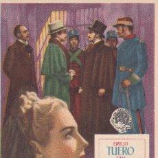 Cine: RECUERDO DE AQUELLA NOCHE .- EMILIO TUERO. Lote 254018975