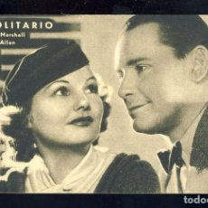 Cine: PROGRAMA DE CINE EL SOLITARIO. TARJETA. Lote 254032155