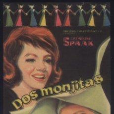 Cine: P-9395- DOS MONJITAS (LE MONACHINE) CATHERINE SPAAK - SYLVA KOSCINA - AMEDEO NAZZARI. Lote 254219235