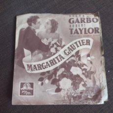Cine: FOLLETO DE MANO MARGARITA GAUTIER , GRETA GARBO , ROBERT TAYLOR , CINE MUNDIAL. Lote 254326075