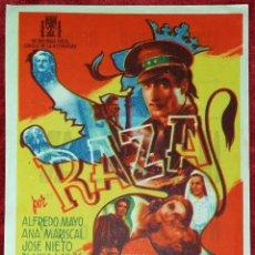 Cine: FOLLETOS DE MANO DE PELÍCULAS. GRAN LOTE DE 600 APROX. ESPAÑA. CIRCA 1950. Lote 254369710