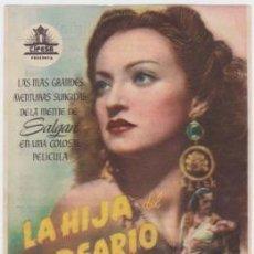 Cine: LA HIJA DEL CORSARIO VERDE (CON PUBLICIDAD). Lote 254452895