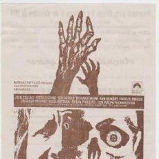 Flyers Publicitaires de films Anciens: CONDENADOS DE ULTRATUMBA (CON PUBLICIDAD). Lote 254454235