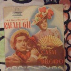 Cine: EL FANTASMA DE Dª JUANITA - DOBLE CON PUBLICIDAD SALA BORN PALMA DE MALLORCA - BUEN ESTADO. Lote 254548425