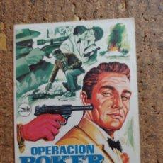 Flyers Publicitaires de films Anciens: FOLLETO DE MANO DE LA PELICULA OPERACION POKER. Lote 254585645