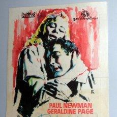 Foglietti di film di film antichi di cinema: PROGRAMA FOLLETO MANO CINE - DULCE PÁJARO DE JUVENTUD PAUL NEWMAN - CINE GOYA ZARAGOZA. ANTIGUO 1962. Lote 254616855