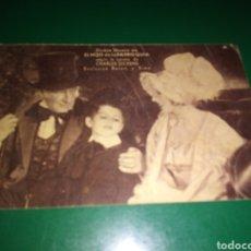 Cine: ANTIGUO PROGRAMA DE CINE CARTÓN. EL HIJO DE LA PARROQUIA. CINE VICTORIA. 1933. Lote 254933125