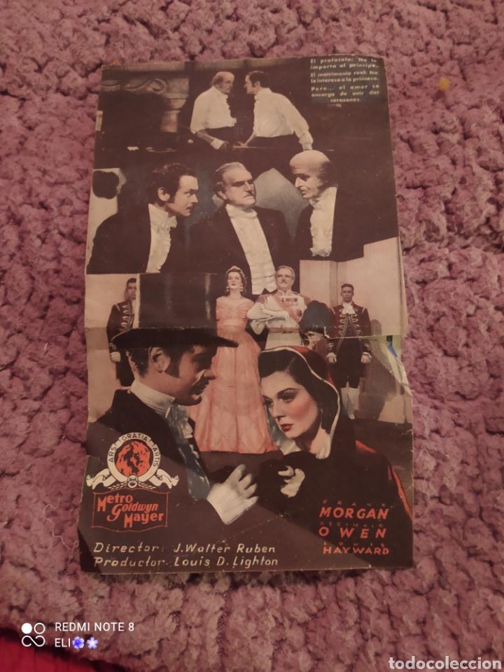 Cine: Folleto de mano doble EL CLUB DE LOS SUICIDAS año 1938 cine ateneu igualadi - Foto 2 - 254987485