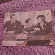 Cine: FOLLETO DE MANO DOBLE LA EDAD INDISCRETA AÑO 1936 MUNDIAL CINE. Lote 254994040