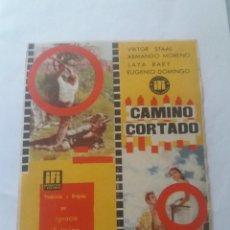 Cine: CAMINO CORTADO. Lote 255566440