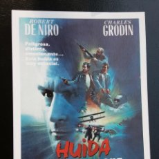 Cine: HUIDA A MEDIANOCHE ROBERT DE NIRO IMPRESO EN LOS AÑOS 80. Lote 256027265