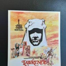Cine: LAWRENCE DE ARABIA ALEC GUINNES IMPRESO EN LOS AÑOS 80. Lote 256029585