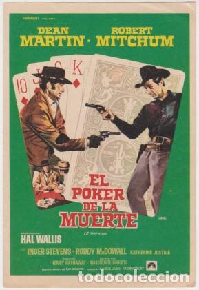 EL POKER DE LA MUERTE (Cine - Folletos de Mano - Westerns)