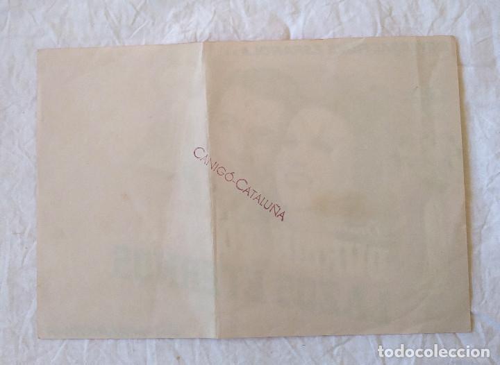 Cine: Lazos Eternos Programa Cine Grande de Universal años 40 Cine Canigó Vich - Foto 2 - 257282970