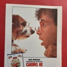 Cine: CARIÑO HE ENCOGIDO A LOS NIÑOS RICK MORANIS IMPRESO EN LOS AÑOS 80. Lote 257319255