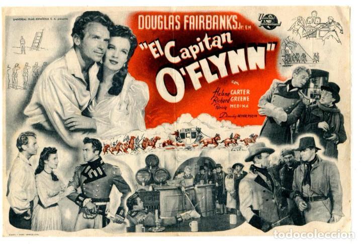 EL CAPITÁN O´FLYNN, CON DOUGLAS FAIRBANKS JR. (Cine - Folletos de Mano - Aventura)