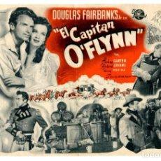 Cine: EL CAPITÁN O´FLYNN, CON DOUGLAS FAIRBANKS JR.. Lote 257387570