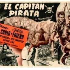 Cine: EL CAPITÁN PIRATA, CON YVONNE DE CARLO.. Lote 257388220