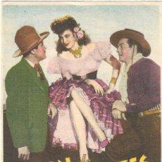 Cine: PN - PROGRAMA DE CINE - PASIÓN DE LOS FUERTES - HENRY FONDA, VICTOR MATURE - CINE ESPAÑOL - 1946.. Lote 257506380