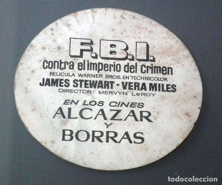 Cine: FBI CONTRA EL IMPERIO DEL CRIMEN - JAMES STEWART - VERA MILES EN LOS CINES ALCÁZAR Y BORRÁS - 1959 - Foto 2 - 257527510