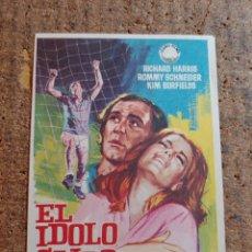 Cine: FOLLETO DE MANO DE LA PELICULA EL IDOLO CAIDO. Lote 257596880