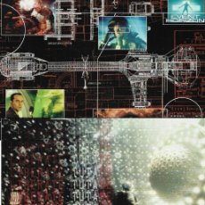 Cine: PN - 4 PROGRAMAS DE CINE - HORIZONTE FINAL - SAM NEILL, LAURENCE FISHBURNE - 1997.. Lote 257714355