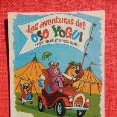 Folhetos de mão de filmes antigos de cinema: EL OSO YOGUI, IMPECABLE SENCILLO, HANNA BARBERÁ, C/PUBLI PRINCIPAL. Lote 258185150