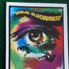 Folhetos de mão de filmes antigos de cinema: VIAJE ALUCINANTE STEPHEN BOYD RAQUEL WELCH IMPRESO EN LOS AÑOS 80. Lote 258743580
