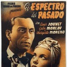 Cine: PROGRAMA DE MANO DE LA PELÍCULA EL ESPECTRO DEL PASADO.. Lote 258871675