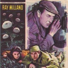 Cine: LADRON DE MANOS DE SEDA .- RAY MILLAND. Lote 260049880