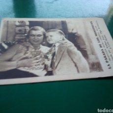Cine: ANTIGUO PROGRAMA DE CINE CARTÓN. AÑOS 30. LA PARADA DE LOS MONSTRUOS. Lote 260318470