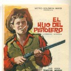 Cine: HIJO DEL PISTOLERO - RUSS TAMBLYN - PROGRAMA ORIGINAL CON PUBLICIDAD - IMPECABLE. Lote 260400495