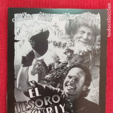 Cine: FOLLETO DE MANO: EL TESORO DE CURLY. BILLY CRISTAL, JACK PALANCE. Lote 260785265
