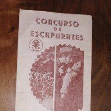 Cine: MUY RARO, FOLLETO DE MANO, DUELO AL SOL. CONCURSO DE ESCAPARATES. CINE MONTERROSA. REUS. AÑO 1954.. Lote 260841330