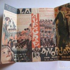 Cine: PROGRAMA DE MANO ORIGINAL EL DE LA FOTO. Lote 261292900