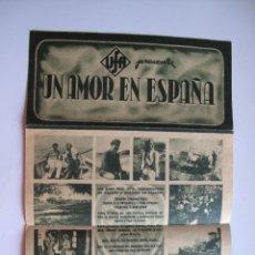 Cine: PROGRAMA DE MANO ORIGINAL EL DE LA FOTO. Lote 261293450