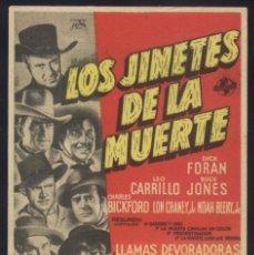 Cine: P-9359- LOS JINETES DE LA MUERTE (RIDERS OF DEATH VALLEY) (6ª A 9ª JORNADA) DICK FORAN. Lote 261889600