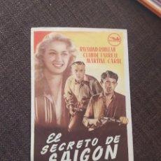 Cine: FOLLETO DE MANO EL SECRETO DE SAIGON. Lote 262092080