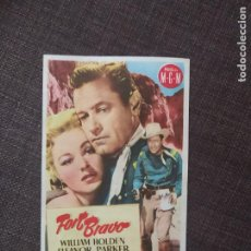 Cine: FOLLETO DE MANO FORT BRAVO. Lote 262104620