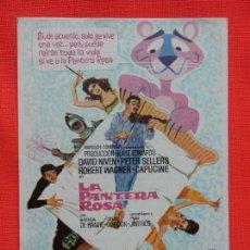 Cine: LA PANTERA ROSA, IMPECABLE SENCILLO, DAVID NIVEN, C/PUBLI CINE DOMENECH RUBI 1964. Lote 262110070