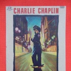 Cine: LUCES DE LA CIUDAD, SENCILLO EXCTE. ESTADO, CHARLES CHAPLIN CHARLOT, C/PUBLI ASTORIA-CRISTINA. Lote 262116645