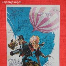 Cine: LAS TRIBULACIONES DE UN CHINO EN CHINA, IMPECABLE SENCILLO, C/PUBLI RUBI CINEMA 1967. Lote 262117525