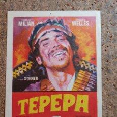 Cine: FOLLETO DE MANO DE LA PELICULA TEPEPA. Lote 262213600